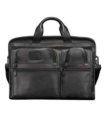 TUMI Alpha 2 leather 17