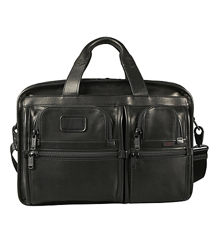 TUMI Alpha 2 expandable leather 15