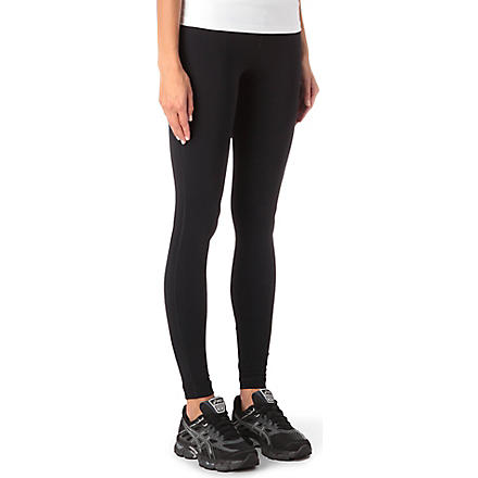 SWEATY BETTY Stretch-jersey leggings (Black