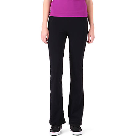 SWEATY BETTY Trim Gym jogging bottoms (Black