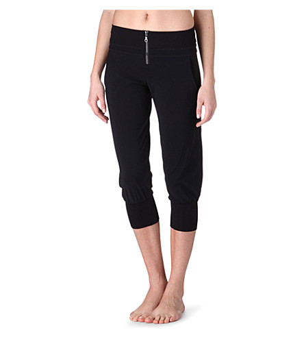 SWEATY BETTY Dance Capri trousers (Black
