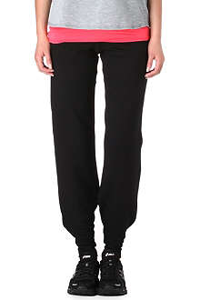 SWEATY BETTY Jersey jogging bottoms