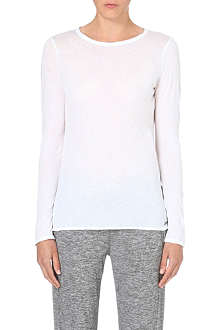 SWEATY BETTY Light cotton-jersey top