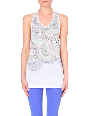 SWEATY BETTY Drishti yoga jersey vest top