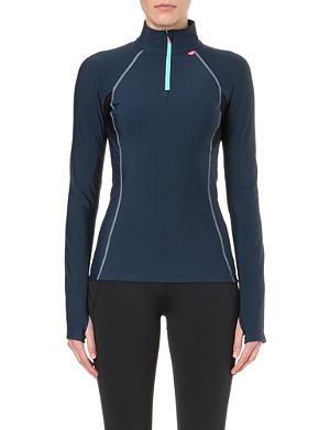 SWEATY BETTY Thermal stretch-jersey top