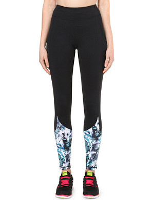 SWEATY BETTY Print panel leggings