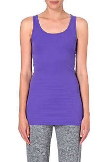 SWEATY BETTY Mantra stretch-cotton yoga vest