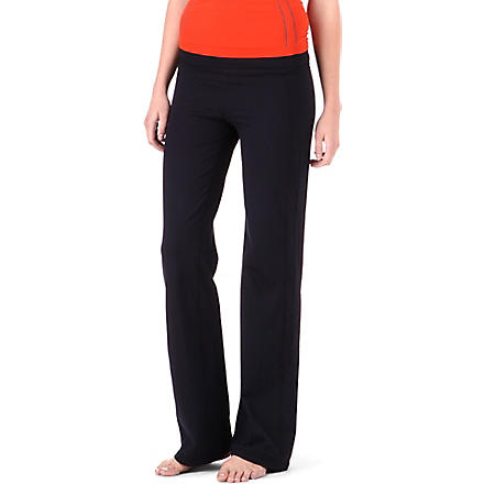 SWEATY BETTY Om yoga jogging bottoms (Black