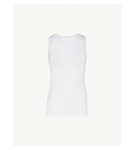 SWEATY BETTY Demi Drape Yoga jersey top (White