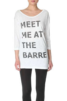 SWEATY BETTY The Barre top
