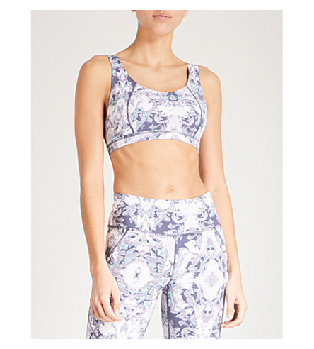 SWEATY BETTY Infinity stretch-jersey sports bra Purple Pick A Best Cheap Price Cheap In UK Outlet Cheapest Free Shipping Big Discount OQsBx
