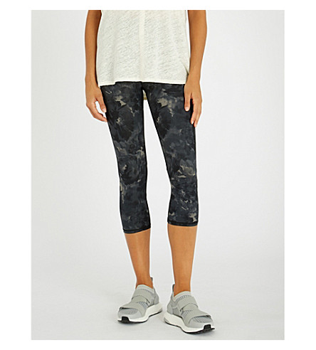SWEATY BETTY Zero Gravity Run cropped stretch-jersey leggings (Black