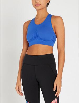 b49b46e91f SWEATY BETTY - Upbeat stretch-jersey sports bra