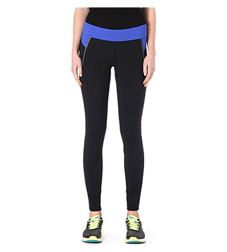 SWEATY BETTY Bodymap thermal running leggings (Black