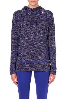 SWEATY BETTY Sprint stretch-jersey hoody