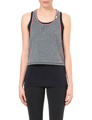 SWEATY BETTY Double time running top