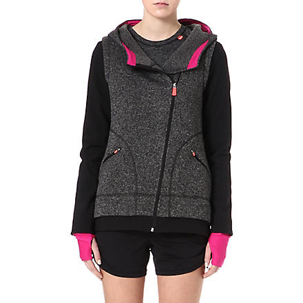 SWEATY BETTY Optimal training hoody (Black