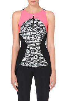 SWEATY BETTY Zoom stretch-jersey top