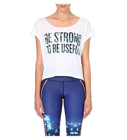 SWEATY BETTY Training Over t-shirt (White