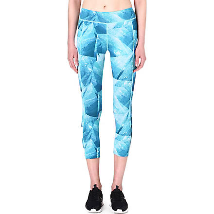 SWEATY BETTY Chandrasana 3/4 yoga capris (Radar