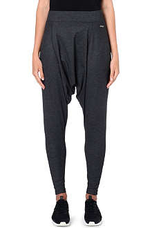 SWEATY BETTY Sauca harem stretch-jersey trousers