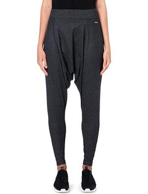 SWEATY BETTY Sauca harem stretch-jersey trousers