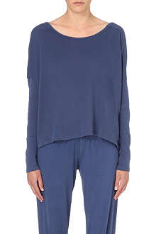 SWEATY BETTY Savasana yoga cotton-blend top