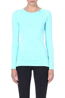 SWEATY BETTY Finish line long-sleeved top