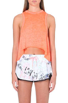 SWEATY BETTY Crop hoody vest