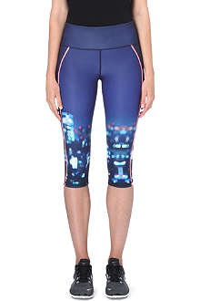 SWEATY BETTY Splits run stretch-jersey capris