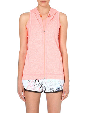 SWEATY BETTY Warm up sleeveless hoody