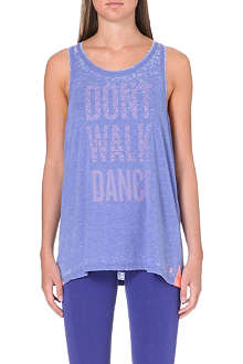 SWEATY BETTY Don't Walk Dance vest