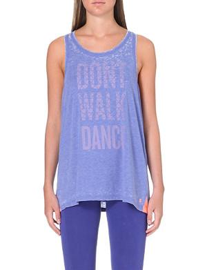 SWEATY BETTY Don't Walk Dance vest