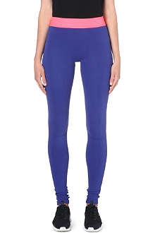 SWEATY BETTY Adagio seamless stretch-cotton leggings