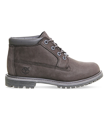TIMBERLAND Nellie double waterproof leather chukka boot Darkgrey nubuck PreviousNext