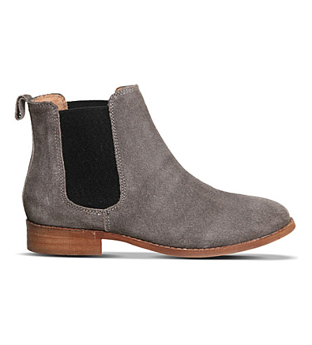 OFFICE Bramble suede chelsea boots (Grey suede