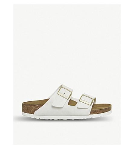 BIRKENSTOCK Arizona faux-leather sandals (Animal+fascination