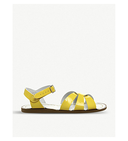 OFFICE Salt Water patent leather sandals (Yellow+patent
