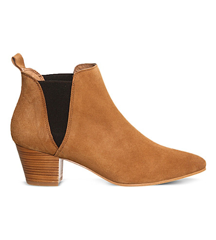 OFFICE Coolcat suede Chelsea boots (Tan suede