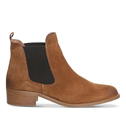 OFFICE Corsa suede Chelsea boots (Tan suede