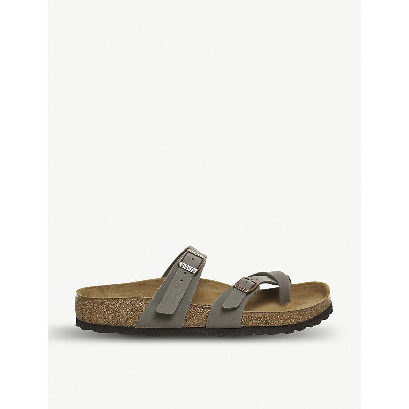 Mayari faux-leather sandals