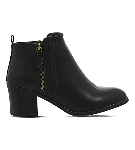 OFFICE Incarnation faux-leather ankle boots (Black
