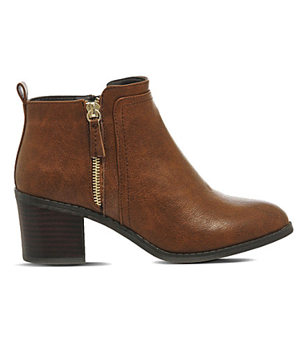 OFFICE Incarnation heeled ankle boots (Tan