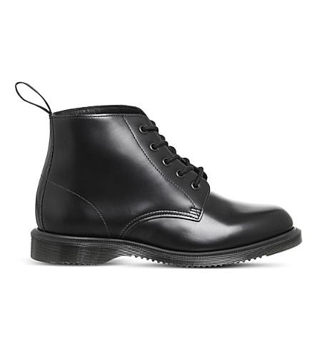 DR. MARTENS Emmeline lace up boot (Black+polished