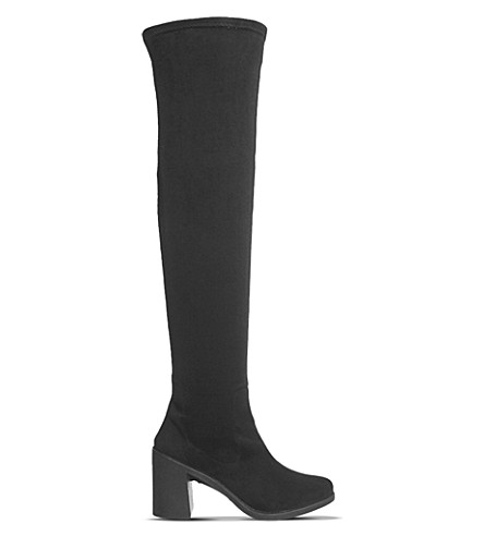 OFFICE Ethan over-the-knee boots (Black