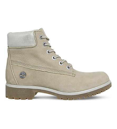 TIMBERLAND 超薄优质6寸皮革靴子 (游牧民族