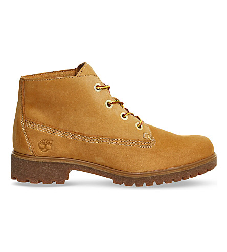 TIMBERLAND Slim nellie nubuck leather chukka boots (Wheat+nubuck