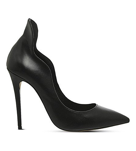 OFFICE Trouble highback leather courts (Black+leather
