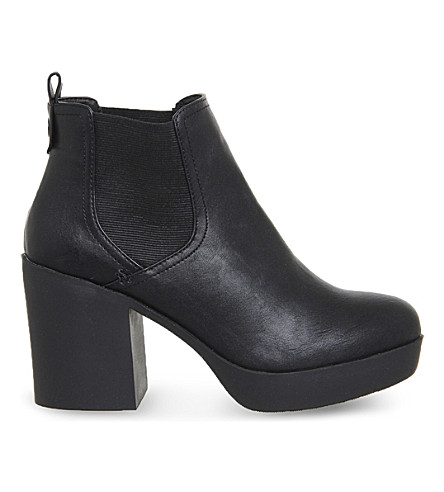 OFFICE Jiggy chunky ankle boots (Black