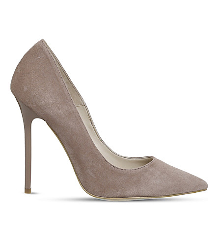 OFFICE On to Point suede courts (Dark+blush+kid+suede